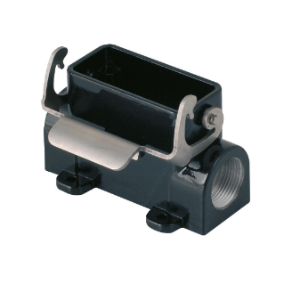 SURFACE MOUNTING HOUSING FOR HARSH ENVIROMENTAL REQUIREMENTS - 49X16 - SINGLE LEVER - PG16X2 - 500V - METAL
