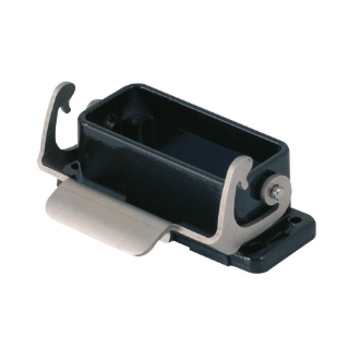 BULKHEAD MOUNTING HOUSING FOR HARSH ENVIROMENTAL REQUIREMENTS - 49X16 - SINGLE LEVER - 500V - METAL