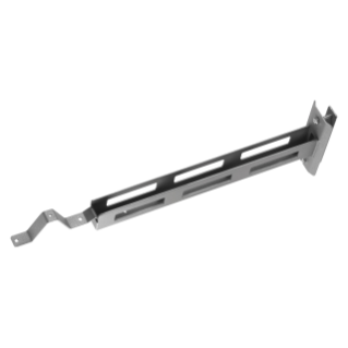 SATURNO - EXTENSION FOR POLE WITH SLOTS - GRAPHITE GREY