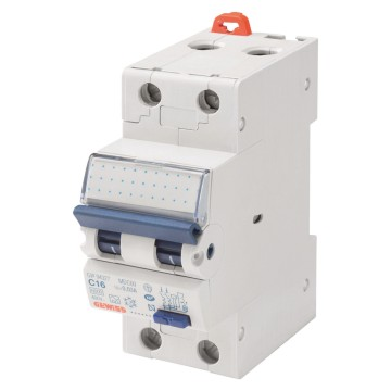Compact residual current circuit breakers with overcurrent protection