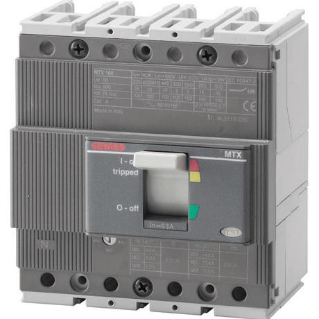 MTX 160 - MOULDED CASE CIRCUIT BREAKER - TIPO N - 36KA 4P 16A - SGANCIATORE TM1 IM=10In