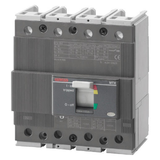 MTX 250 - MOULDED CASE CIRCUIT BREAKER - TYPE S - 50kA 4P 125A TM1 RELEASE IM=10In