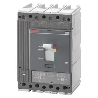 MTX 320 - MOULDED CASE CIRCUIT BREAKER - TIPO N - 36KA 4P 125A TM2 RELEASE IM=5-10In