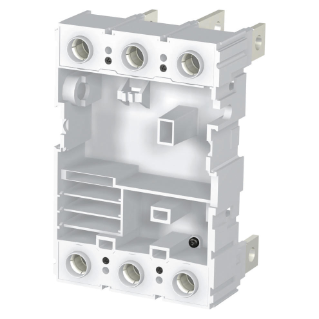 FIXED PART FOR PLUG-IN MOULDED CASE CIRCUIT BREAKER COMPLETE WITH FLAT VERTICAL REAR TERMINALS (VR) - FOR MTX/E/M 320 - 3P