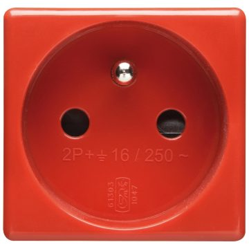 French Standard socket-outlet for dedicated lines - 250V AC