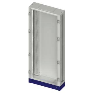 FLOOR MOUNTING DISTRIBUTION BOARD STRUCTURE - CVX 630M - 850X2000X280 - GREY RAL7035