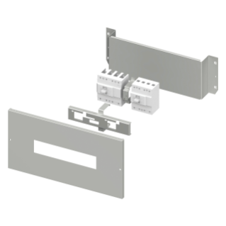 INSTALLATION KIT FOR INTERLOCKED MCCB'S MAX 250A - CVX 630K/M - 24 MODULES - 600X300 - FOR MTX 160c - MTX/E 160 - MTX/M 250 - VERTICAL