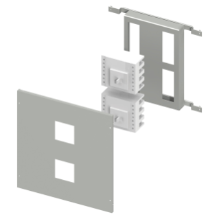 INSTALLATION KIT FOR INTERLOCKED MCCB'S MAX 630A - CVX 630M - 24 MODULES - 600X500 - FOR MTX/M 250 - HORIZONTAL