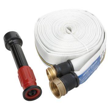 Kit containing lance, hose and support