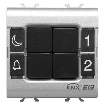 KNX 4-channel push-button panels