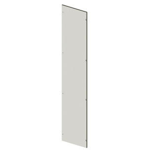 BLANK DOOR IN SHEET METAL - INTERNAL - 400X1800 - GRIGIO RAL 7035