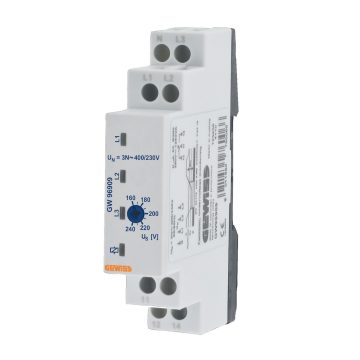 Undervoltage monitoring relay - 3 phase AC electrical system