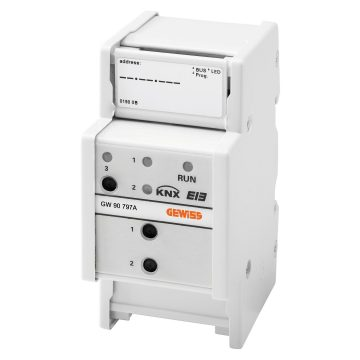 KNX logic module - IP20 - DIN rail mounting