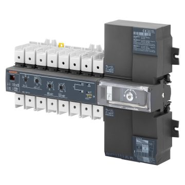Monobloc automatic switchover system with 3 positions