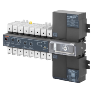 MSS 160A ATS - MONOBLOC AUTOMATIC SWITCHOVER SYSTEM WITH 3 POSITIONS - 63A 230V - 19 MODULES
