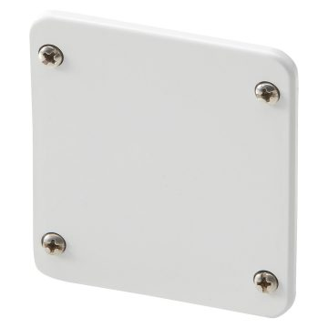 Blank covers for COMBIBLOC interlocked switched socket-outlets