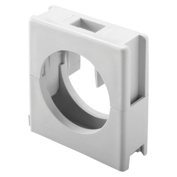 Multi-diameter clamp supports - Grey RAL 7035