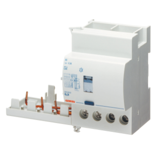 ADD ON RESIDUAL CURRENT CIRCUIT BREAKER FOR MT CIRCUIT BREAKER - 4P 63A TYPE A[S] SELECTIVE Idn=0,3A - 3,5 MODULES