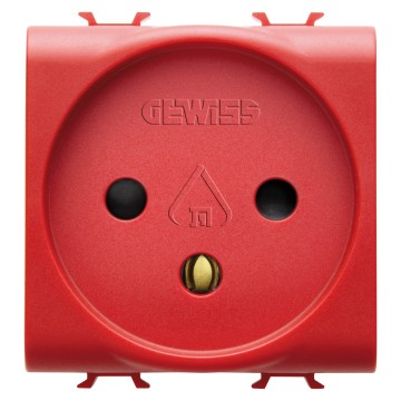 Israeli standard socket-outlet for dedicated lines - 250V ac