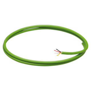 CABLE BUS KNX - FUNDA LSZH - 2 CONDUCTORES 1 x 2 x 0,8 - DIAMETRO 5,2 mm - CLASE CPR CCA-S1A,D0,A1 - VERDE