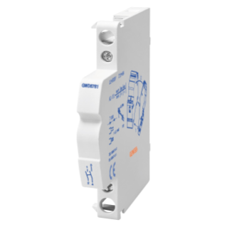 AUXILIARY CONTACT FOR LATCHING RELAY- 1 CHANGEOVER - 4A 230V - 0,5 MODULI