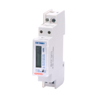 ENERGY METER FOR DIRECT CONNECTION - MID - SINGLE-PHASE DIGITAL - 32A - 1 MODULE - CHORUS