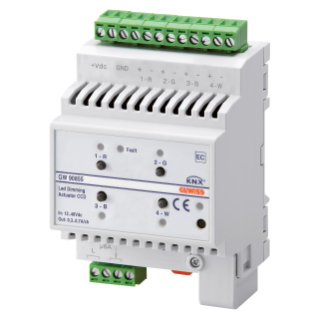 EASY DIMMER ACTUATOR - EASY - CVD - 12-48 V dc - 4 MODULES - DIN RAIL MOUNTING
