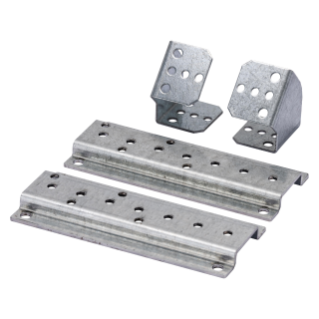 PAIR OF SUPPORTS - FOR TERMINAL BLOCK - CVX 630K/M - VERTICAL FOR INTERNAL COMPARTMENT