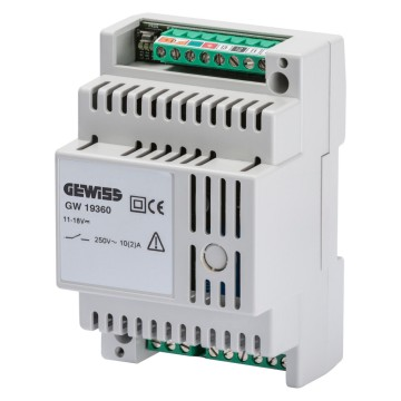 Auxiliary actuator for IP extension systems - from DIN rail