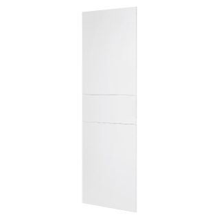 DOMO CENTER - KIT FRONTAL - SANS PORTE - COLONNE MONTANTE - H.2400 - MÉTAL - BLANC RAL 9003
