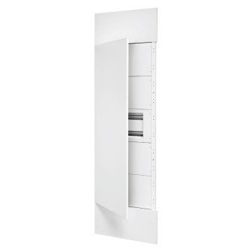 System column front kit with door and finish panels in white metal RAL 9003, 1 underdoor enclosure 40 M and underdoor panels white RAL 9003