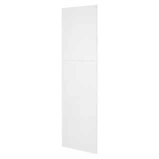 DOMO CENTER - FRONT KIT - WITHOUT DOOR - UPRIGHT COLUMN - H.2700 - METAL - WHITE RAL 9003