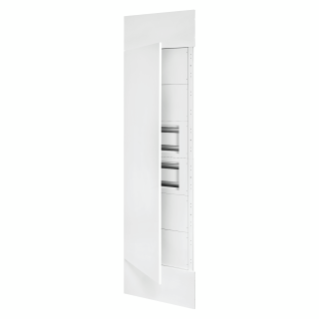 DOMO CENTER - KIT FRONTAL - PUERTA EN METAL - 2 PANEL TRUQUELADOS 40 MODULI - H.2700 - METÁLLICOS - BLANCO RAL 9003