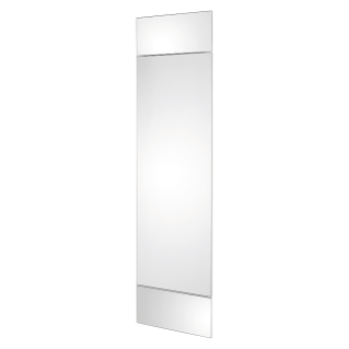 DOMO CENTER - DOOR AND 2 PANELS - MIRROR FINISH - H.1500