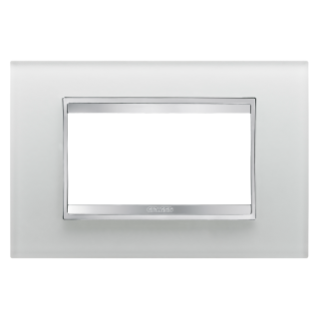 PLAQUE LUX RECTANGULAIRE - EN VERRE - 4 MODULES - GLACE - CHORUS