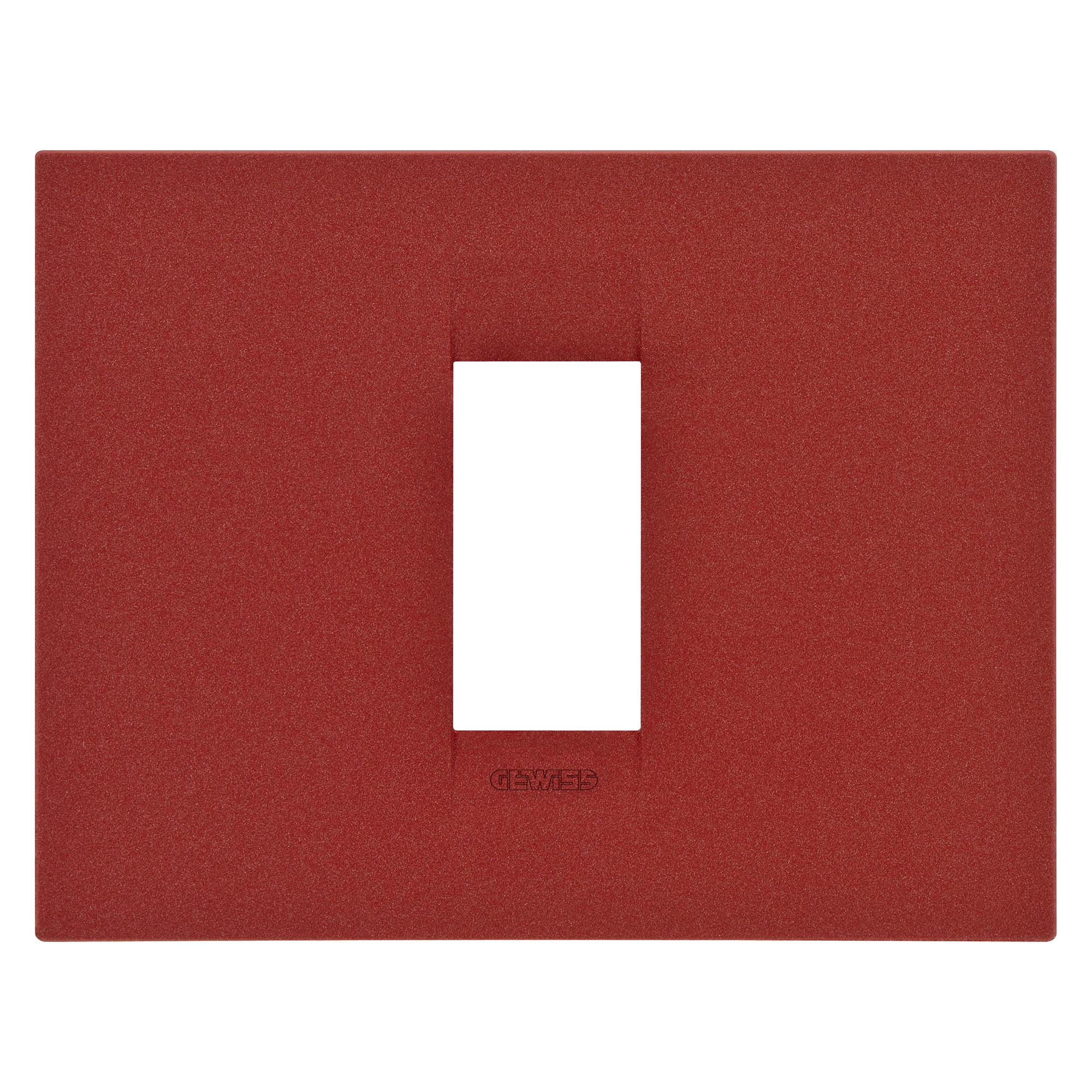 placca gw16401vr gewiss. Black Bedroom Furniture Sets. Home Design Ideas