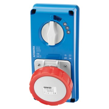 IB Range<br />Interlocked socket-outlets IEC 309 standards