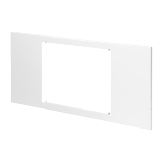 DOMO CENTER - PANEL WITH WINDOWS - METAL - H.300 - FOR MASTER 10'' - WHITE RAL 9003