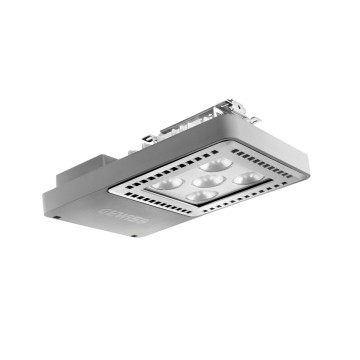 SMART [4] 2.0 LB - 5 LED - SPOT 10° - STAND ALONE - 4000 K (CRI 80) - 220/240 V 50/60 Hz - IP66 - CLAS I - GREY RAL 7037