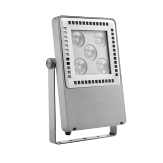 SMART [4] 2.0 FL - 5 LED - SPOT 10° - STAND ALONE - 5700 K (CRI 80) - 220/240 V 50/60 Hz - IP66 - CLAS I - GREY RAL 7037