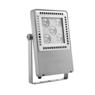 SMART [4] 2.0 FL - 5 LED - SPOT 10° - STAND ALONE - 4000 K (CRI 80) - 220/240 V 50/60 Hz - IP66 - CLAS I - GREY RAL 7037