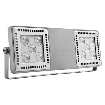 SMART [4] 2.0 FL - 5+5 LED - MEDIUM 60° - RGBW - DMX - 220/240 V 50/60 Hz - IP66 - CLAS I - GREY RAL 7037
