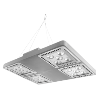 SMART [4] 2.0 HB - 4x5 LED - MEDIUM 60° - STAND ALONE - 3000 K (CRI 80) - 220/240 V 50/60 Hz - IP66 - CLAS I - GREY RAL 7037