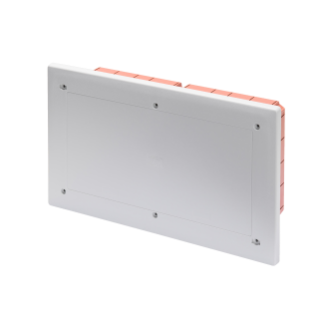 MODULAR JUNCTION AND CONNECTION BOX - FLUSH-MOUNTING - WATERTIGHT - DIMENSIONS 308X169X70 - SHOCKPROOF LID - IP55 - GREY RAL7035