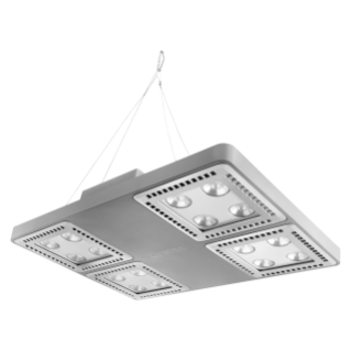 SMART [4] 2.0 HB - 4x4 LED - MEDIUM 60° - STAND ALONE - 3000 K (CRI 80) - 220/240 V 50/60 Hz - IP66 - CLAS I - GREY RAL 7037