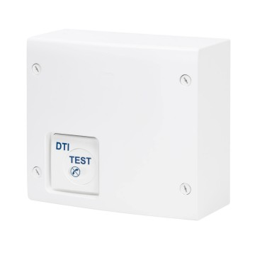 Home VDI enclosure grade 1 with 4 connectors RJ 45 and 4 TV-SAT outputs - White RAL 9016