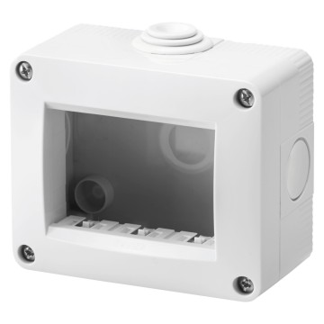 Self-supporting, empty, protected enclosures - IP40