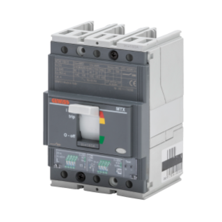 MTXE 160 - MOULDED CASE CIRCUIT BREAKER WITH ELECTRONIC RELEASE - TYPE H - 70kA 3P 63A - SEP/1 MICROPROCESSOR FUNCTION I