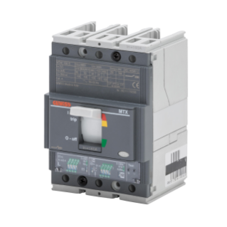 MTXE 160 - MOULDED CASE CIRCUIT BREAKER WITH ELECTRONIC RELEASE - TYPE S - 50kA 3P 63A - SEP/1 MICROPROCESSOR FUNCTION LS/I