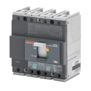 MTXE 160 - MOULDED CASE CIRCUIT BREAKER WITH ELECTRONIC RELEASE - TYPE S - 50kA 4P 100A - SEP/1 MICROPROCESSOR FUNCTION I